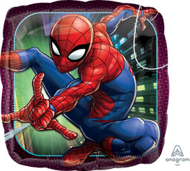 "18"" Spider-Man Animated Square"