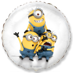 "18"" Despicable Me Minion Party White"