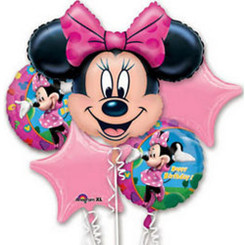 Minnie Mouse Birthday Bouquet  (A SET OF 5)