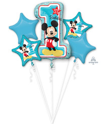 Bouquet Mickey 1st Birthday (A SET OF 5)