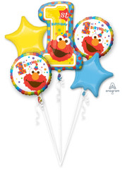 Bouquet Sesame Street 1st Birthday (A SET OF 5)