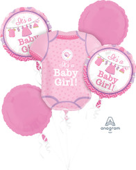 Bouquet Shower With Love Girl (A SET OF 5)