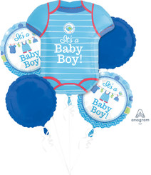 Bouquet Shower With Love Boy (A SET OF 5)