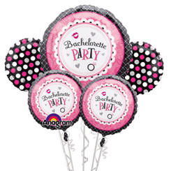 Bachelorette Party Balloon Bouquet (A SET OF 5)