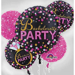 Bouquet Bachelorette Sassy Party (A SET OF 5)