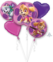 Bouquet Paw Patrol - Skye & Everest (Set of 5)
