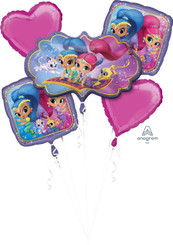 Bouquet Balloon Shimmer and Shine (A SET OF 5)