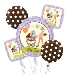 Modern Mommy Bouquet of Balloons (A SET OF 5)