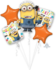 Bouquet Balloon Despicable Me Party  (A SET OF 5)