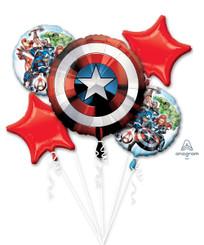 Bouquet Avengers Shield (A SET OF 5)