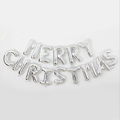 "16"" Merry Christmas Kit - Silver (Air-fill ONLY)"