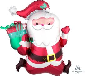 """27"""" Running Santa"""