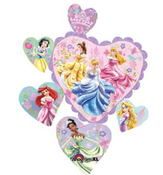 "32"" Princess Hearts"