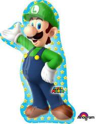 """38"""" Super Mario Bros Luigi"""