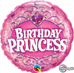 "18"" Birthday Princes Qualatex"