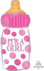 "23"" It's A Girl Baby Bottle"