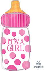 """23"""" It's A Girl Baby Bottle"""
