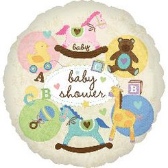 "18"" Baby Shower Animals"