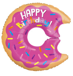 "28"" Birthday Donut Shape"