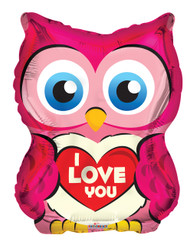 "18"" Owl With Heart"