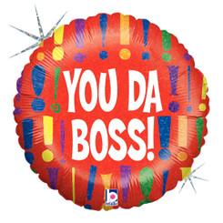 "18"" You Da Boss!"