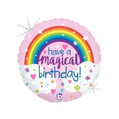"18"" Magical Rainbow Birthday"
