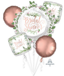 Love & Leaves Bridal Shower Bouquet (A SET OF 5)