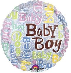 "18"" Baby Boy Sparkles"