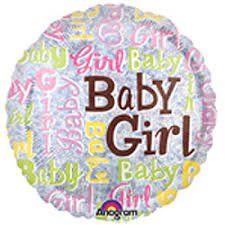 "18"" Baby Girl Sparkles"
