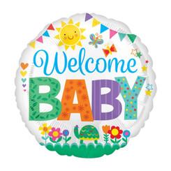 """18"""" Welcome Baby Garden"""