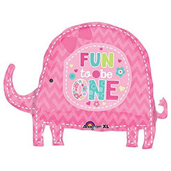 "23"" Party Fun To Be One Elephant"