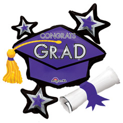 Purple Grad Bouquet  (A SET OF 5)