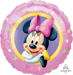 "18"" Minnie Portrait Pink"