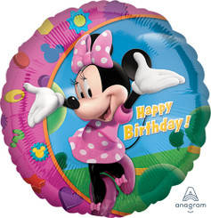 """18"""" Minnie Happy Birthday"""