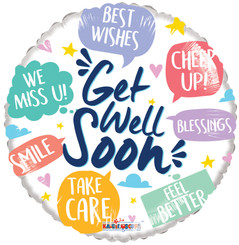 "18"" Get Well Phrases"