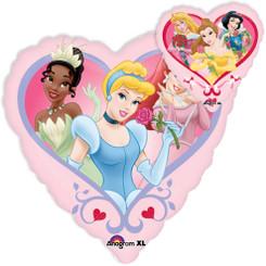 """32"""" Jumbo Disney Princess Heart"""
