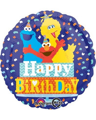 "18"" Sesame Street Birthday Hat"