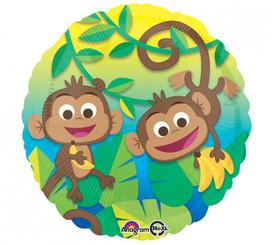 "18"" Happy Monkey Fun"