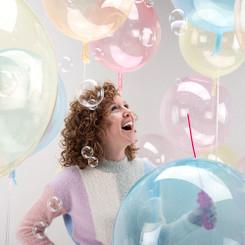 "20"" macaron crystal balloon"