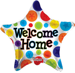"18"" Welcome Home Star Polka Dots"