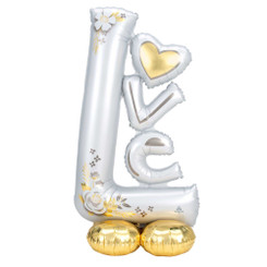"58"" AIRLOONZ L-O-V-E LOVE WEDDING"