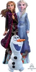 "58"" Frozen 2 Elsa, Anna, Olaf Airwalker Balloon"