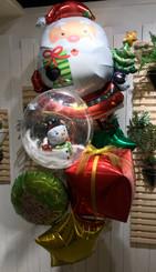 Santa & Snowman bouquet