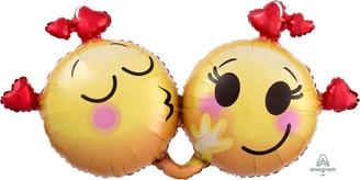 """36"""" Love emoticon foil balloon"""