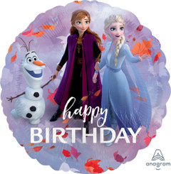"18"" frozen 2 Happy Birthday"