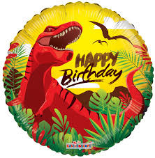 "18"" Happy Birthday Dinosaur"