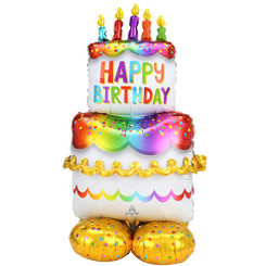 "53"" Cake Airloonz foil balloon"