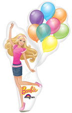 "46"" Jumbo Barbie with Balloons"