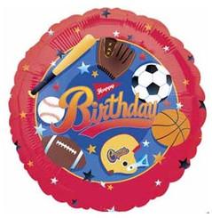 """18"""" Sports Birthday"""