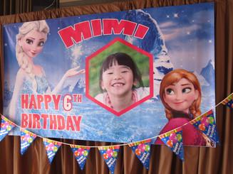 Frozen Banner 4'x7'